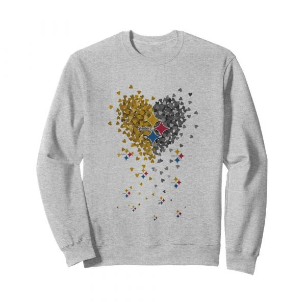 Pittsburgh Steelers Heart  Unisex Sweatshirt