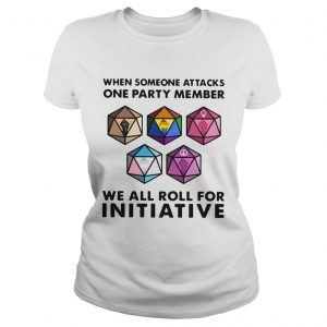 When Someone Attacks One Party Member We All Roll For Initiative  Classic Ladies