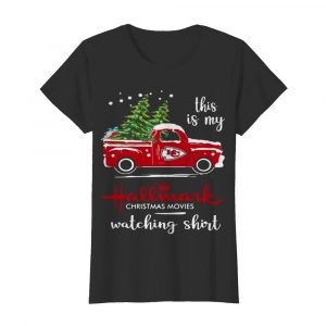 This Is My Hallmark Christmas Movies Watching  Classic Women's T-shirt