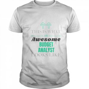 This Is What Awesome Budget Analyst Looks Like  Classic Men's T-shirt