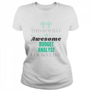 This Is What Awesome Budget Analyst Looks Like  Classic Women's T-shirt